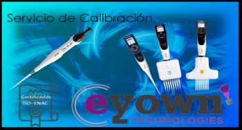 Calibración de pipetas ISO 8655 Y ENAC