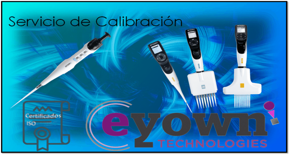 Calibration of ISO 8655 and ENAC pipettes